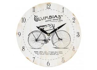 Nástěnné hodiny Columbias - Ø 29*4 cm