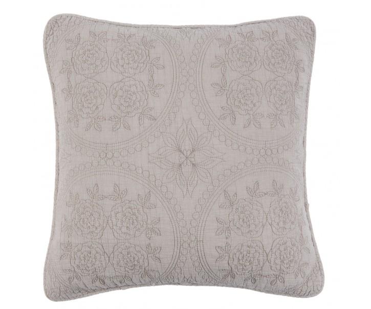 Béžový vintage povlak na polštář Quilt 181 - 50*50 cm
