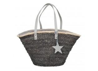 Šedá nákupní/plážová taška Andygrey - 30*61 cm