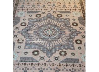 Modrý bavlněný koberec Victoria- 160*230cm