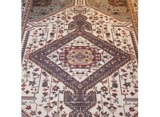 Modro-přírodní bavlněný koberec Victoria I- 160*230cm