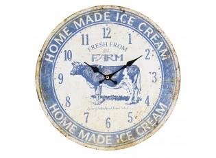 Nástěnné hodiny Fresh from farm - Ø 34*4 cm