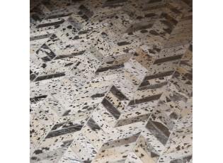 Kožený koberec Enrico z dílků - 170*240cm
