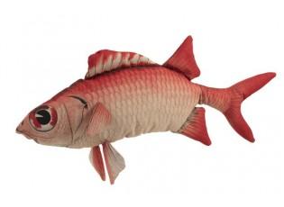 Červený polštář Fish Jeff - 94*34*18cm
