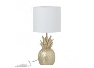 Zlatá stolní lampa Pineapple gold - Ø 18* 38cm