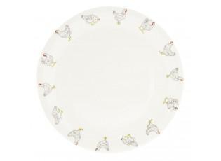 Jidelní talíř Lucky Chicken - Ø 28 cm