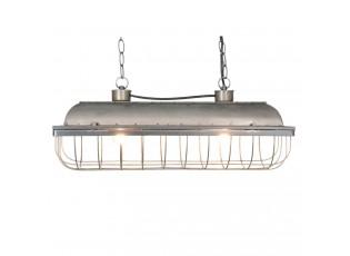 Kovové závěsné světlo  Industrial - 60*20*25 cm / E27/ Max. 2x40 Watt