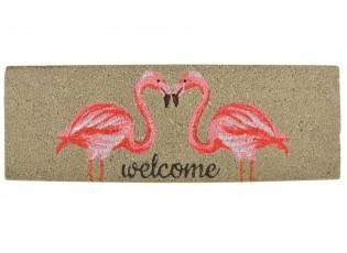 Rohožka s plameňáky Flamingo - 75*25 cm