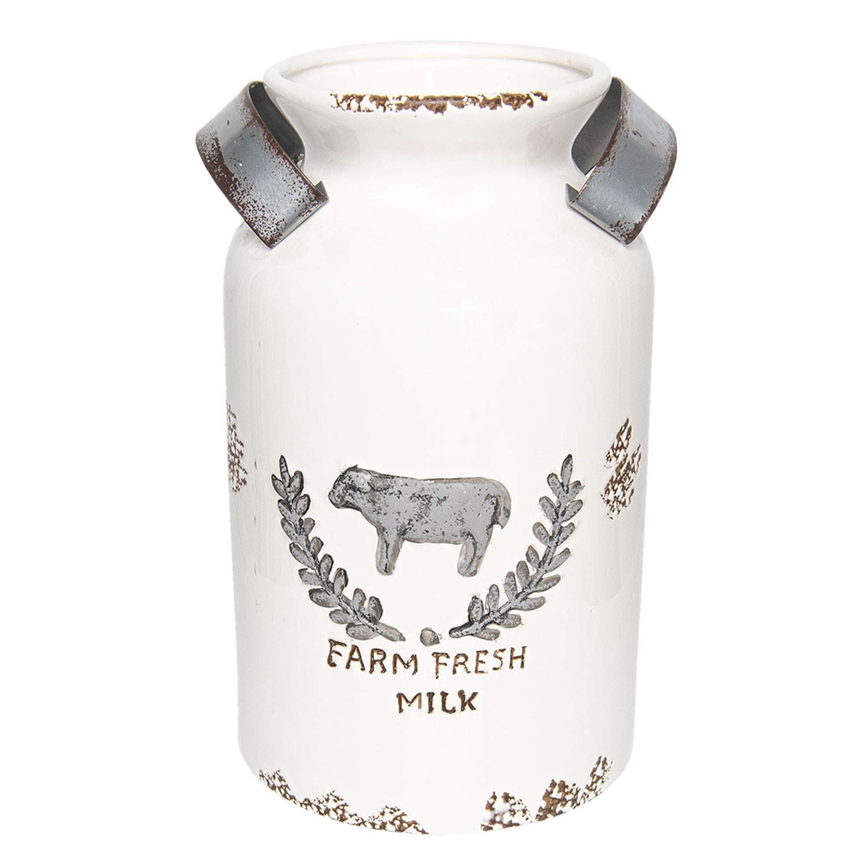 Keramická nádoba/konvička na mléko - Ø20*31 cm