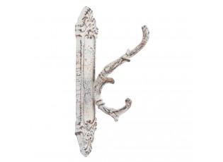 Kovový háček Antik grey -5*9*20 cm