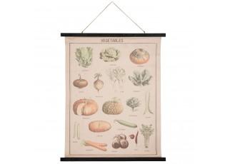 Nástěnná mapa Vegetables - 80*2*100 cm