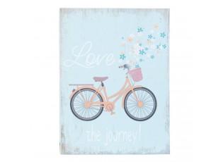 Nástěnná dřevěná cedule Love - 12*3*16 cm