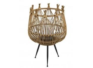 Bambusová lucerna na noze Bamboo - Ø34*48,5 cm