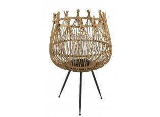 Bambusová lucerna na noze Bamboo - Ø41,5*63,5 cm