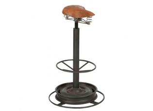 Kovová barová stolička Retro - Ø 40* 71cm