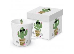 Hrnek v krabičce Hug Me Cactus - 0,3L