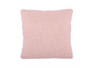 Růžový polštář s výplní Ibiza blush pink - 45*45cm