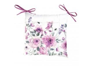 Podesdák s výplní Roses and butterflies - 40*40 cm