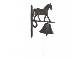 Litinový zvonek s koňem Horse - 20*11*27 cm