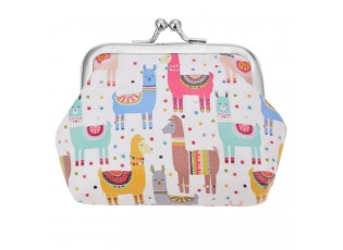Malá peněženka Lama - 10*9 cm