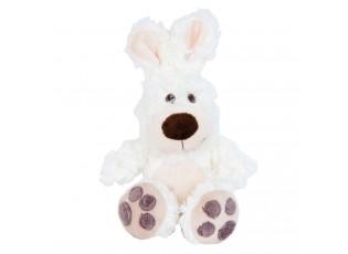 Bílý plyšový králíček - 15cm