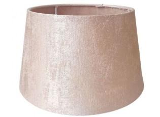 Růžové stínidlo na lampu Tessa - Ø 25*Ø 19*14 cm / E27