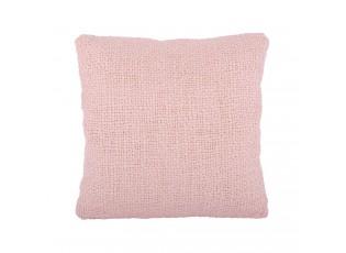 Růžový polštář s výplní Ibiza blush pink - 60*60cm