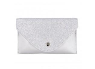 Stříbrná etue/kabelka kolem pasu - 17*11/110 cm