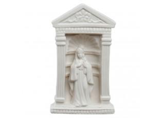 Bílá porcelánová panenka Marie - 11*7*18 cm