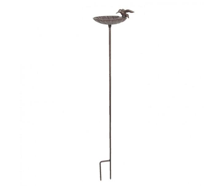 Pítko pro ptáčky na tyči -17*15*100 cm