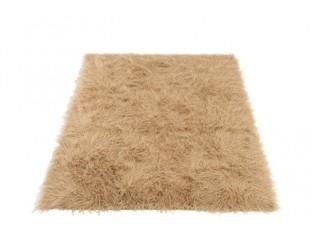 Béžová chlupatá předložka/koberec Long Hair - 150*180cm