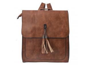 Hnědý batoh Malvia - 30*27 cm