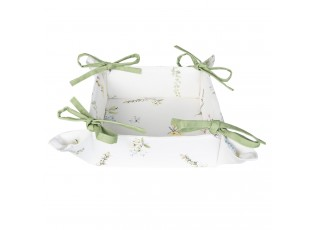 Textilní košíček na pečivo Happy Florals - 35*35*8 cm