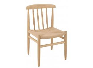 Přírodní dřevěná židle Scandinavian - 45*45*79cm