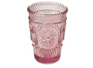 Růžová sklenička Verrerie - Ø 7,5*10,5 cm