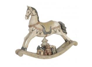 Dekorace houpací koník - 22*5*19 cm