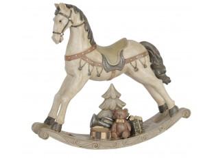 Dekorace houpací koník - 30*8*27 cm