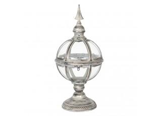 Kovová lucerna koule Ball - Ø 21*44 cm
