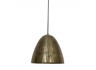 Zlaté antik kovové stropní světlo Enisa - Ø 30*28 cm