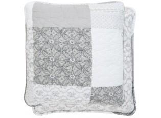 Šedý povlak na polštář Quilt 162 - 40*40 cm
