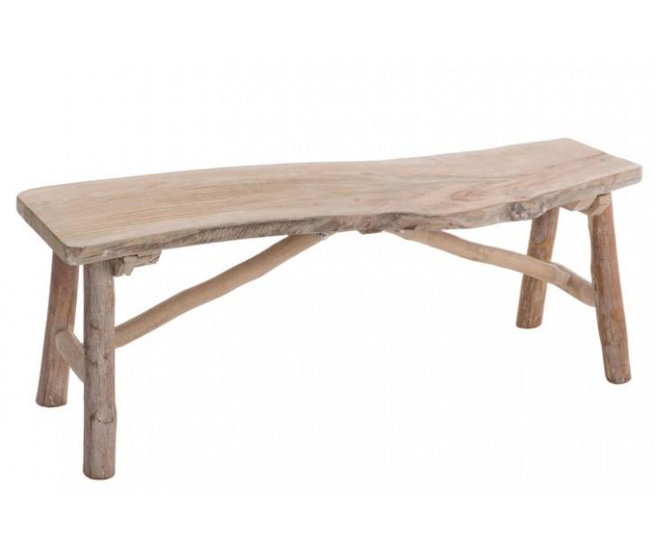 Dřevěná lavice  Brut - 103*30*37cm