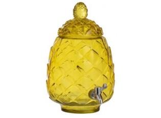Žlutá nádoba na nápoje s kohoutkem - Ø20*33cm