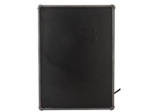 Křídová magnetická tabule Tube - 80*3,3*110cm