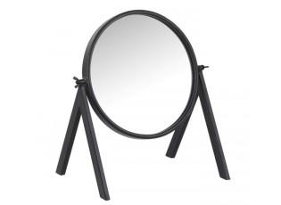 Černé kovové stolní zrcátko - 30*20*33cm