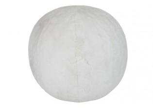 Bílý nafukovací puf Cutie -  Ø 40-50cm