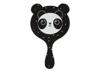 Černé zrcátko Panda - 11*1*20cm