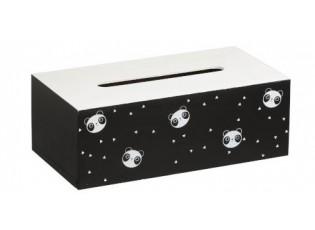 Box na papírové kapesníčky Panda -25*13*8,5cm