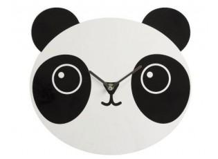 Dřevěné hodiny Panda - Ø 30cm