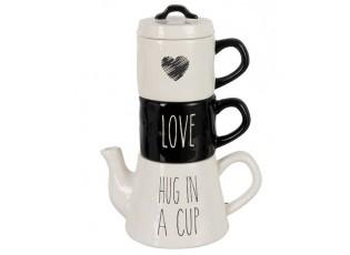 Tea for 2 Love -  20*13*28cm