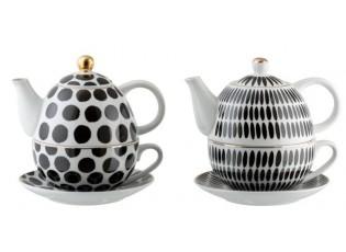 Tea for 1 - sada 2ks -  17*15*14cm
